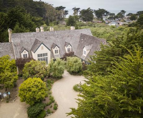 Aerial Photos - Aerial View of Seal Cove Inn