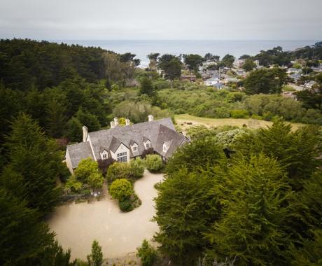 Aerial Photos - Socially Distance on The Half Moon Bay Coast
